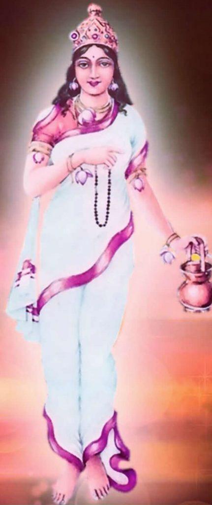 नवरात्री, द्वितीय दुर्गा, ब्रह्मचारिणी